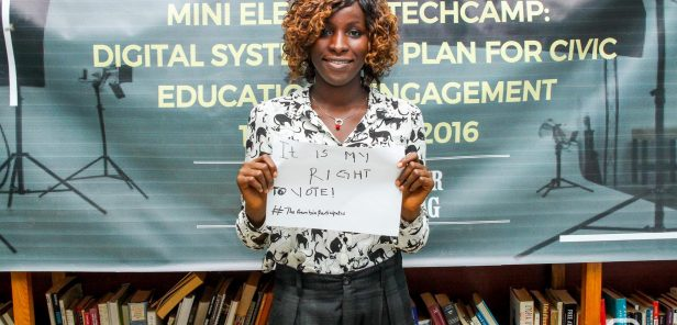 #GambiaParticipates Mini-TechCamp Participant