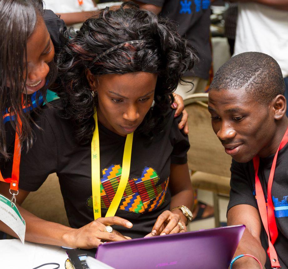TechCamp Ghana participants
