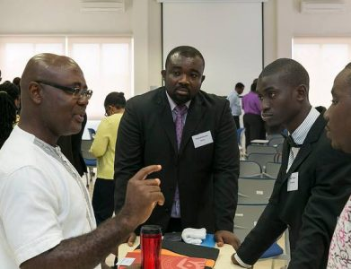 YALI TechCamp Ghana participant