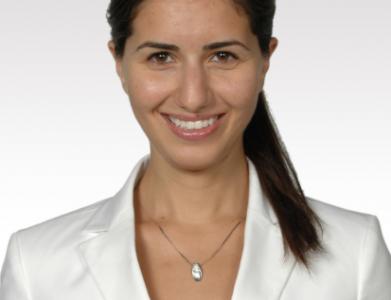 TechCamp trainer Esra Dogramaci.