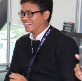 TechCamp trainer Anthony Kap Khan Khual.