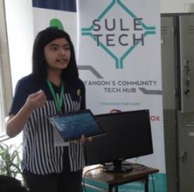 TechCamp trainer Chan Myae Khine.