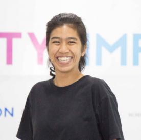 TechCamp trainer Theint Naing Yoon.