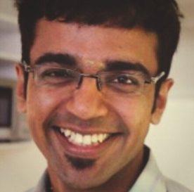 TechCamp trainer Venkataraman Ramachandran.