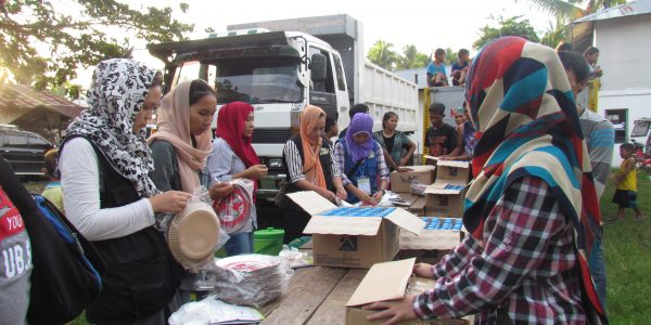 #MealForMarawi Campaign Distribution in action
