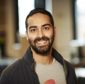 TechCamp trainer Vivek Kumar.