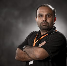 TechCamp trainer Nishant Pagare.