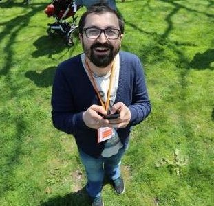 TechCamp Trainer Kenan Dursun.