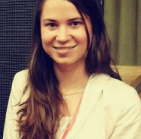 TechCamp trainer Orsolya Jenei.
