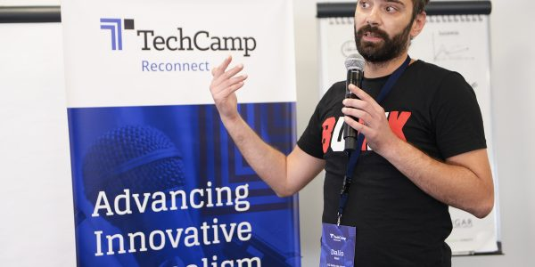 At TechCamp Reconnect