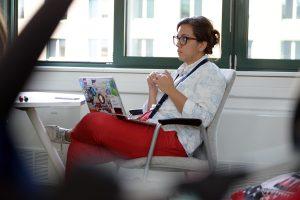 Lejla Sarcevic at TechCamp Reconnect