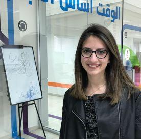 TechCamp trainer Leen Abu Baker.