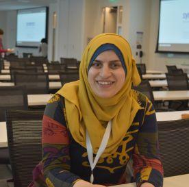 TechCamp Trainer Ruba Awayes.