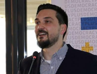 TechCamp trainer Jetmir Bakija.