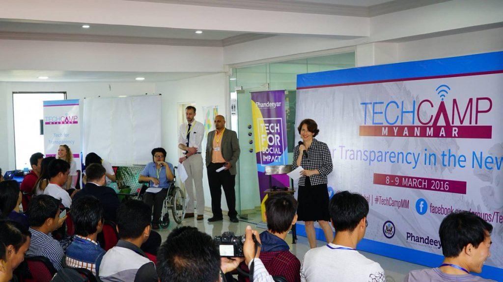 TechCamp Myanmar DCM remarks