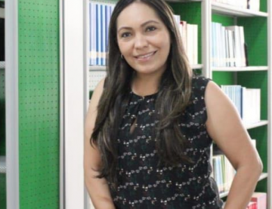 TechCamp trainer Rocío Pizarro.